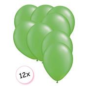 Joni's Winkel Premium Quality Ballonnen Limoen groen 12 stuks 30 cm
