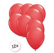 Joni's Winkel Premium Quality Ballonnen Rood 12 stuks 30 cm