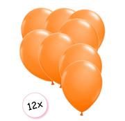 Joni's Winkel Premium Quality Ballonnen Oranje 12 stuks 30 cm
