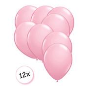 Joni's Winkel Premium Quality Ballonnen Baby Roze 12 stuks 30 cm