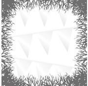 Joni's Halloween Shop Vlaggenlijn Wicked White 10 meter