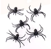 """Joni's Halloween Shop Spinnen """"Zwarte weduwe"""" 5 Stuks"""