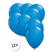 Joni's Winkel Premium Quality Ballonnen Donker Blauw 12 stuks 30 cm
