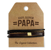 """Miko The Legend Collection Armband """"Super Papa"""""""