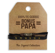 "Miko The Legend Collection Armband ""Bonus Papa"""