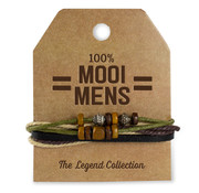 """Miko The Legend Collection Armband """"Mooi mens"""""""