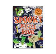 """Henbrandt Ltd Uitdeelcadeautjes - Puzzle book """"Spooky"""" 8 Stuks"""