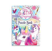 """Henbrandt Ltd Uitdeelcadeautjes - Puzzle book """"Unicorn Dreams"""" 8 Stuks"""