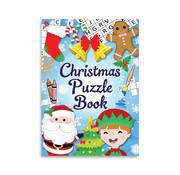 """Henbrandt Ltd Uitdeelcadeautjes - Puzzle book """"Christmas"""" 8 Stuks"""