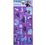 "Disney Stickers Disney's Frozen ""Lead with Courage"" +/- 50 stuks"