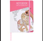 "Notitieboek A5 ""Roze"""