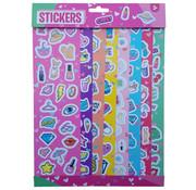 """Joni's Winkel Stickervellen 8 vellen """"Girls"""""""