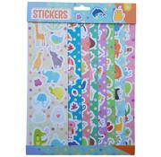 "Joni's Winkel Stickervellen 8 vellen ""Lieve dieren"""