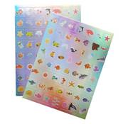 """Joni's Winkel Holografische Stickers 112 stuks """"Zeewereld"""""""