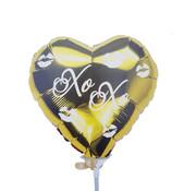 Folieballon XOXO 36x36 cm