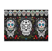 "Joni's Halloween Shop Halloween Decoratie banner ""Day of the dead"" 60x40 cm"