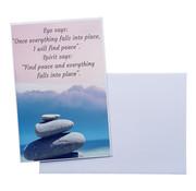 """CottonCounts Luxe Kaart met envelop """"Ego says"""" 10x15 cm"""
