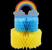"""Disney Honeycomb 3D wenskaart """"Regenboog"""""""