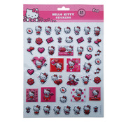 "Bubbel-stickers ""Hello Kitty"" +/- 50 Stickers"