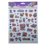 "Bubbel-stickers ""Paw Patrol Roze"" +/- 50 Stickers"