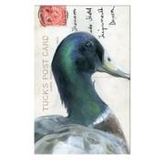 """Meander Luxe Kaart met envelop """"Wilde eend"""" 11,5x17,5cm"""