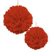 Pompoms Rood 30/40 cm