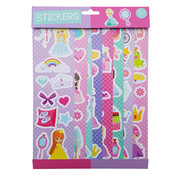 """Joni's Winkel Stickervellen 8 vellen """"Princess"""""""