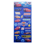 "Disney Stickers Disney's Cars ""Carbon Cyber"" +/- 50 stuks"