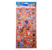 "Nickelodeon Stickers Paw Patrol ""Squad"" +/- 50 stuks"