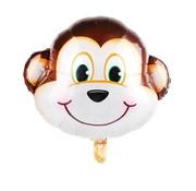 Joni's Winkel Folieballon Aap 81x69 cm