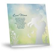 """Miko Silver Silhouette """"Lieve Mama"""""""