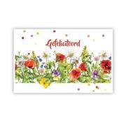 "PC Cadeau Enveloppe ""Strook met bloemen"""