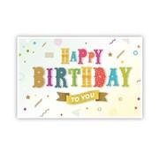 "PC Cadeau Enveloppe ""Happy Birthday"""