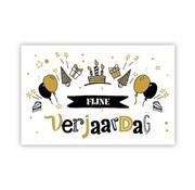 "PC Cadeau Enveloppe ""Taart, hoedjes en ballonnen"""