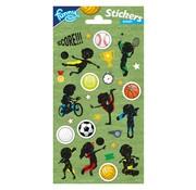 Stickervel Sport