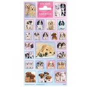 "Stickervel Dieren Softies & Cuties ""Puppies"""