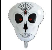 GN Folieballon Halloween Skull 50×62 cm