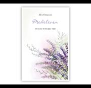 "PC Condoleance kaart ""Lavendel"""