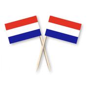 Cocktail prikkers Nederland 50 stuks