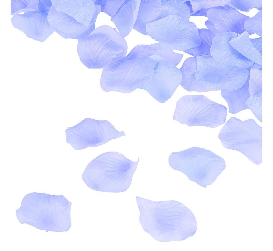 Rozenblaadjes Licht Blauw 144 stuks