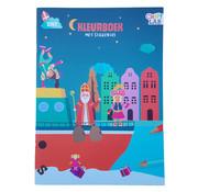 Craft Lab Sint kleur & Sticker boek