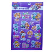 """Nickelodeon Paw Patrol Stickerboek met glitters """"Roze"""""""