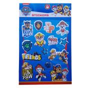 """Nickelodeon Paw Patrol Stickerboek met glitters """"Blauw"""""""
