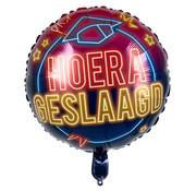 """Boland Folieballon Neon """"Geslaagd"""" 45x45 cm"""