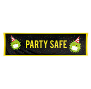 Boland Banner Party Safe 180 x 50 cm