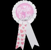 "Rozet ""Bride to be"""