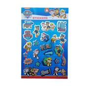 """Nickelodeon Paw Patrol Stickerboek met glitters """"Top Pups"""""""