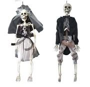 Haza Original Luxe skelet bruid & bruidegom