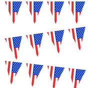 PartyXplosion Vlaggenlijn 'USA' 10 meter