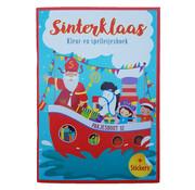 "Wins-Holland B.V. Sinterklaas sticker- , kleur- & doeboek ""Pakjesboot 12"""
